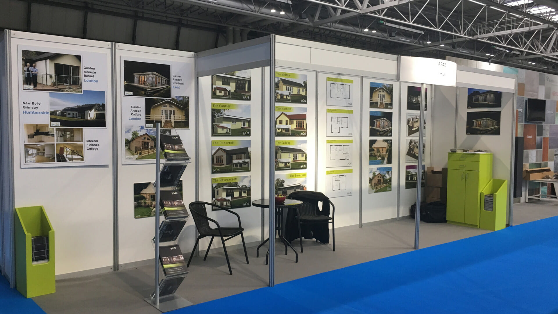 iHus stand at the Grand Designs show in Birmingham 2017