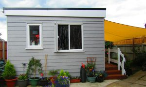 space needed for a granny annexe