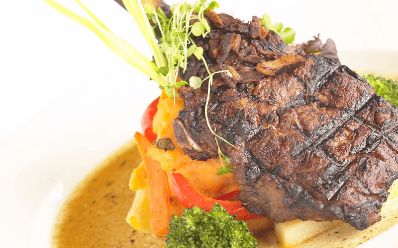 image shows lamb a traditional Easter food
