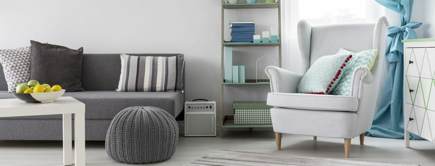Storage ottomans provide an extra seat as well as storage