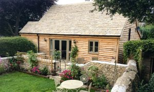 Aldridge Granny Annexe listed lodge