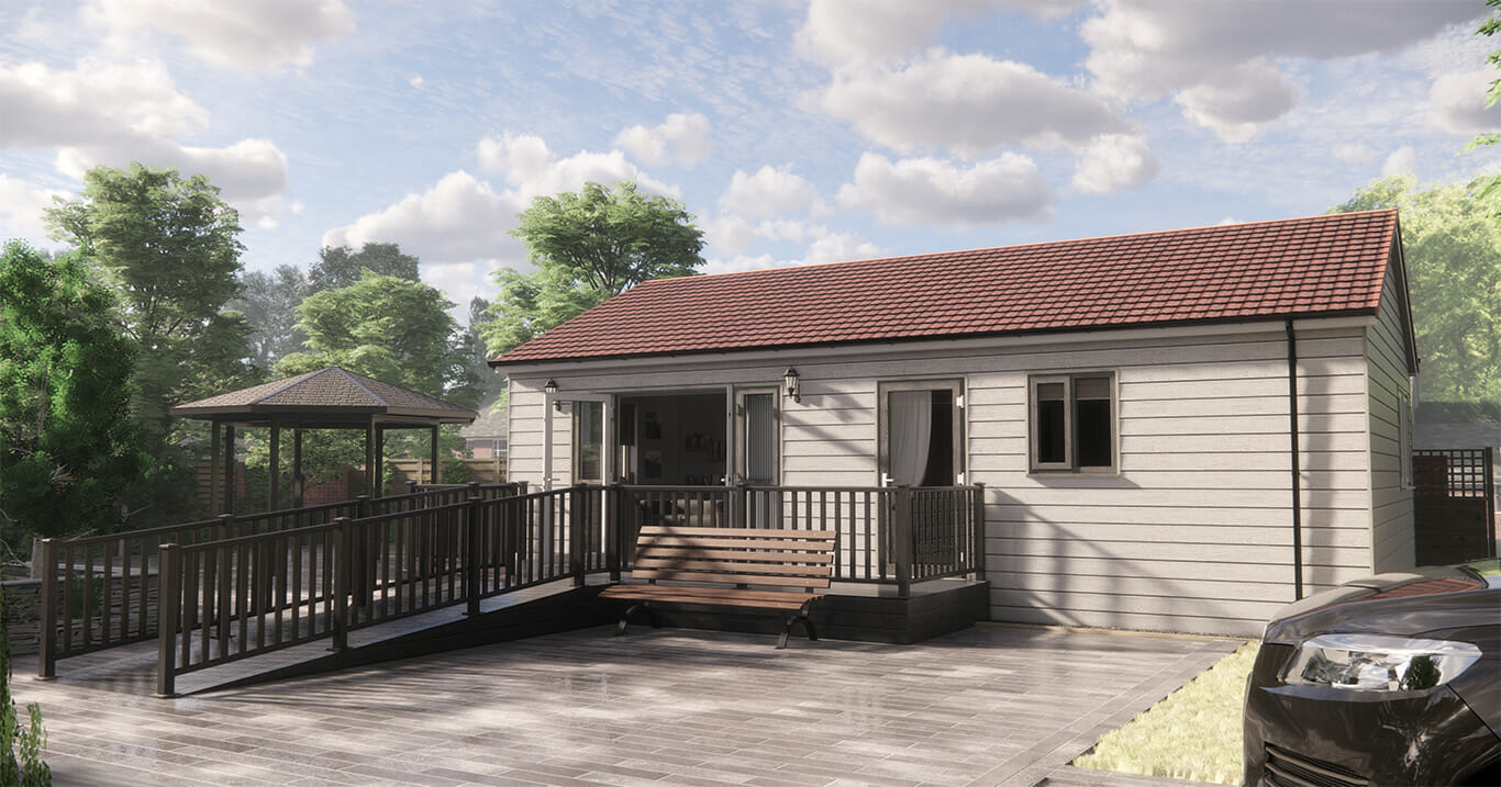 The loversall two bedroom annexe